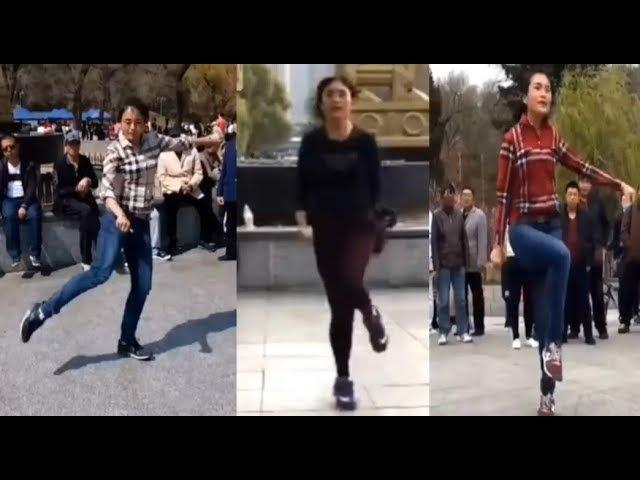 HÓT nhất DANDAN bước nhảy điêu luyện cái lắc đầu quyễn rũ giáo viên dạy Dance Shuffle nhạc CỰC ĐỈNH