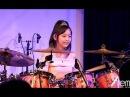Drums Kanade Sato 14YRS OLD  佐藤奏 ドラム セカンドライブより Island Magic Cover