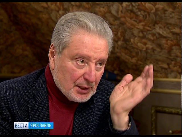 Известный актер Вениамин Смехов выступил на фестивале «Дни Некрасова в Вятском»