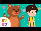 ЁЛОЧКА - Кукутики - В Лесу Родилась Ёлочка - Детская Новогодняя Праздничная Песенка Funny Kids Song