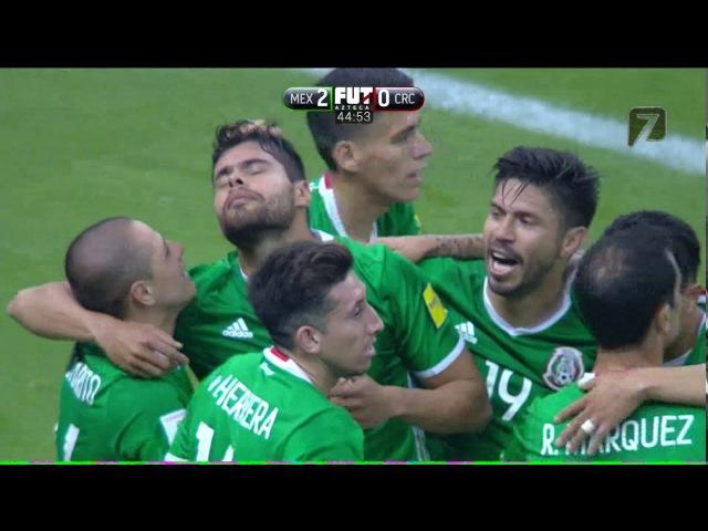 México vs Costa Rica 2-0 Eliminatorias Rusia 2018 TV AZTECA FULL HD 2017