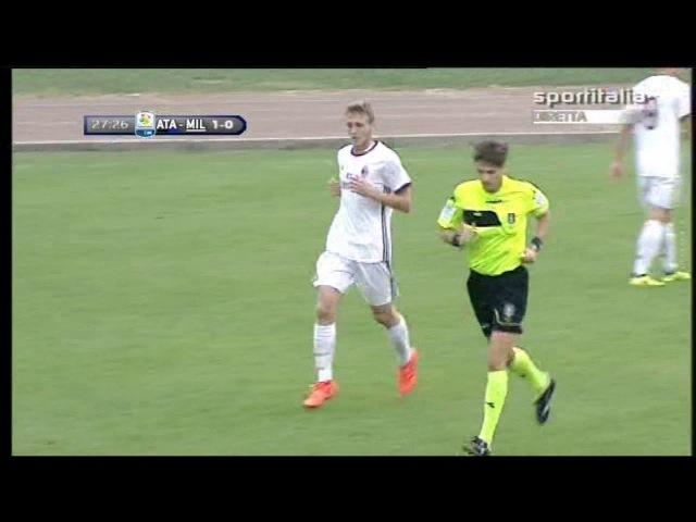 PRIMAVERA 1: Atalanta - Milan 1-1