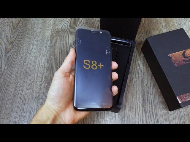 Распаковка Bluboo S8 PLUS на русском