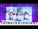 Танцующий пингвин.Детская песенка.