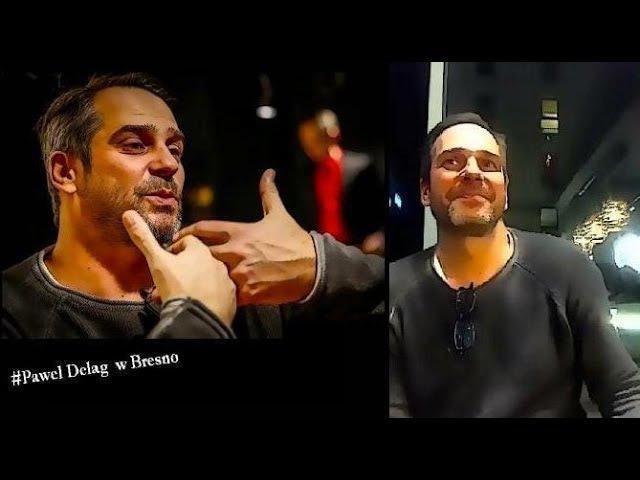 Pawel Delag w Bresno facebook live 4 part projekt Kultura 200 m Od Morza
