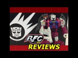 Transformers Titans Return Grotusque & Fengul with Diecast Scorponok Review