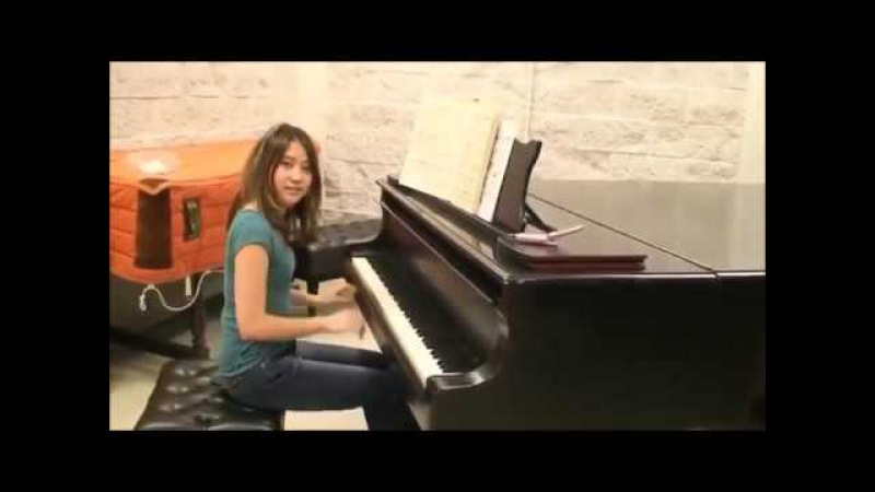 INCREDIBLE Yuja Wang adolescent ! On Volodos/ Mozart Turkish March