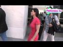 Rhona Mitra departs Comic Con Panel in SD