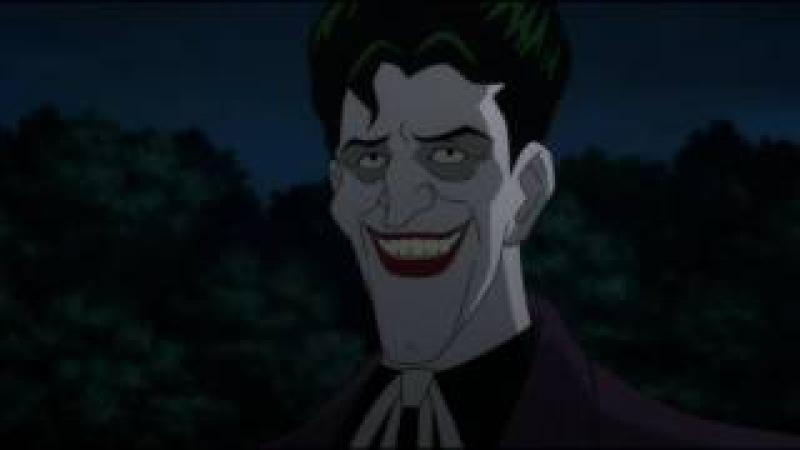 Бэтмен: Убийственная шутка. Диалог Бэтмена и Джокера. Безумие Бэтмена
