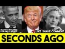 Trump Signs Executive Order To Seize Assets Of Clinton Obama