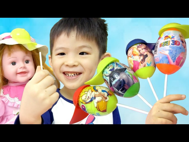 Learn Colors for Kids with Lollipop Finger Family Songs Nursery rhymes for toddlers, babies infant