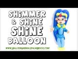 How To Make A Shine Balloon From Shimmer and Shine - Balloon Animals Palm Beach