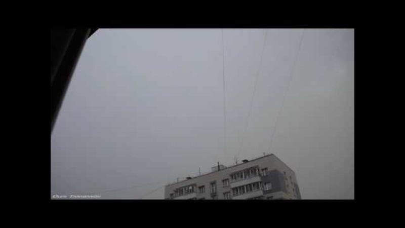 Дождь,град,гром и молнии в Москве 21 июля 2017