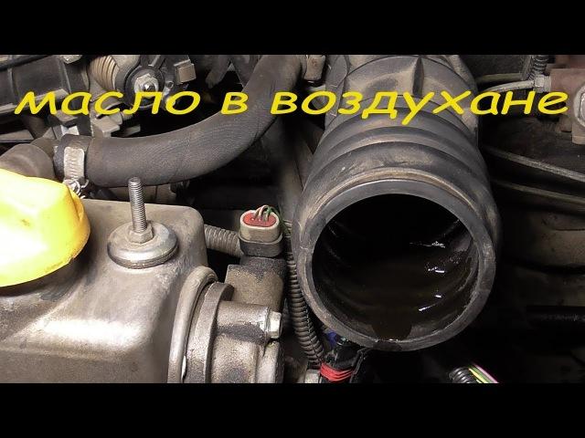 масло в воздушном фильтре и гофре причина и устранение