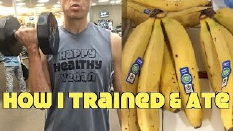 How I Train Eat In A Day As A Weak Starving Vegan