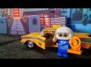 Мультик про машинки для мальчиков где винтик такси полицейская машина мультик а...