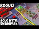 Rogue: Solo with Everspark! New Bullit Strategy! ✦ Boom Beach