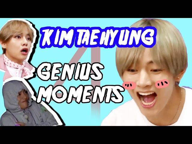 BTS V KIM TAEHYUNG Genius moment 4