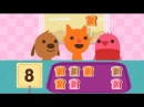 Fun Pet Care Kids Games- Sago Mini Pet Cafe - Baby Learn Colors, Numbers Shapes Games For Kids