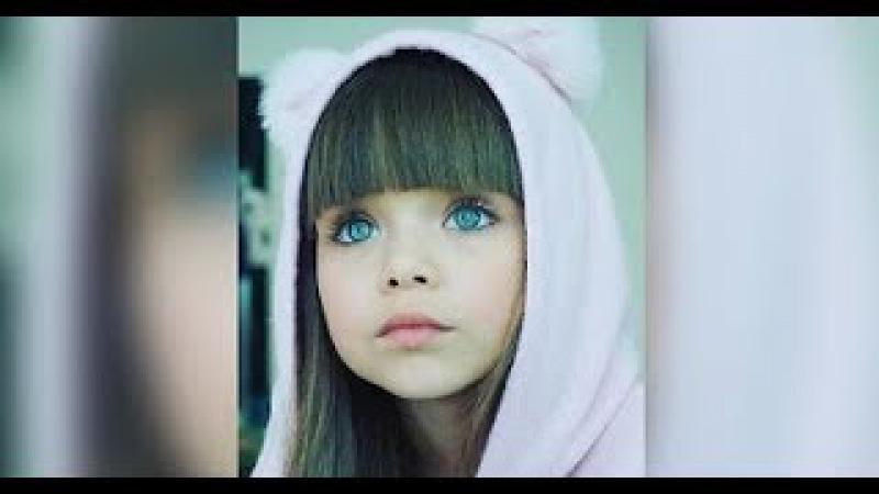 Эту 6-летнюю девочку из России называют самой красивой в мире. И не зря...