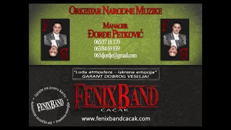 DJORDJE PETKOVIC I FENIX BAND CACAK-ATMOSFERA U LAZAREVCU 2016 -fenixbandcacak.com