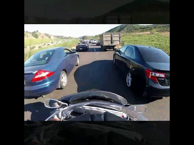 Вы полюбите Калифорнию за междурядье на мотоцикле