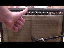 Fender Deluxe Reverb II (Rivera Era) - звук c SM57