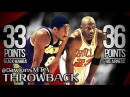 Michael Jordan vs 19 Yr-Old Kobe Bryant LEGENDS Duel 1997.12.17 - Kobe With 33, MJ With 36 in HD!