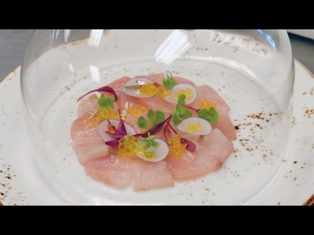 How to: Cold Smoke Tea-Infused Hamachi Crudo | TEALEAVES FBintheKnow