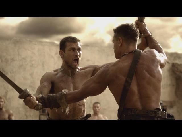 Спартак:Кровь и Песок Первый бой Спартака с Криксом