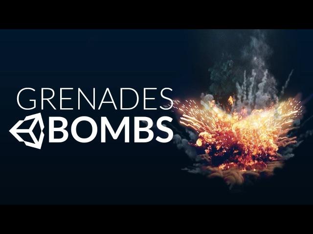 GRENADE BOMB in Unity (Tutorial)