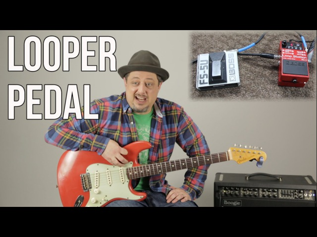 Looper Pedals - Boss RC 3 Looper Pedal Demo by Marty Schwartz - MartyMusic Thursday Gear Video