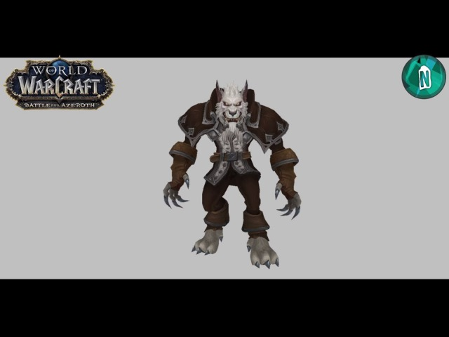 Greymane in Worgen Form in Battle of Azeroth patch 8.0.1 [Early Preview]