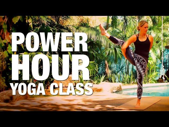 Erin Sampson Power Hour Yoga Class Силовая йога для тонуса тела