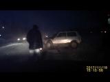 Новое видео с ДТП на автодороге Ухта-Дальний 18 11 2017