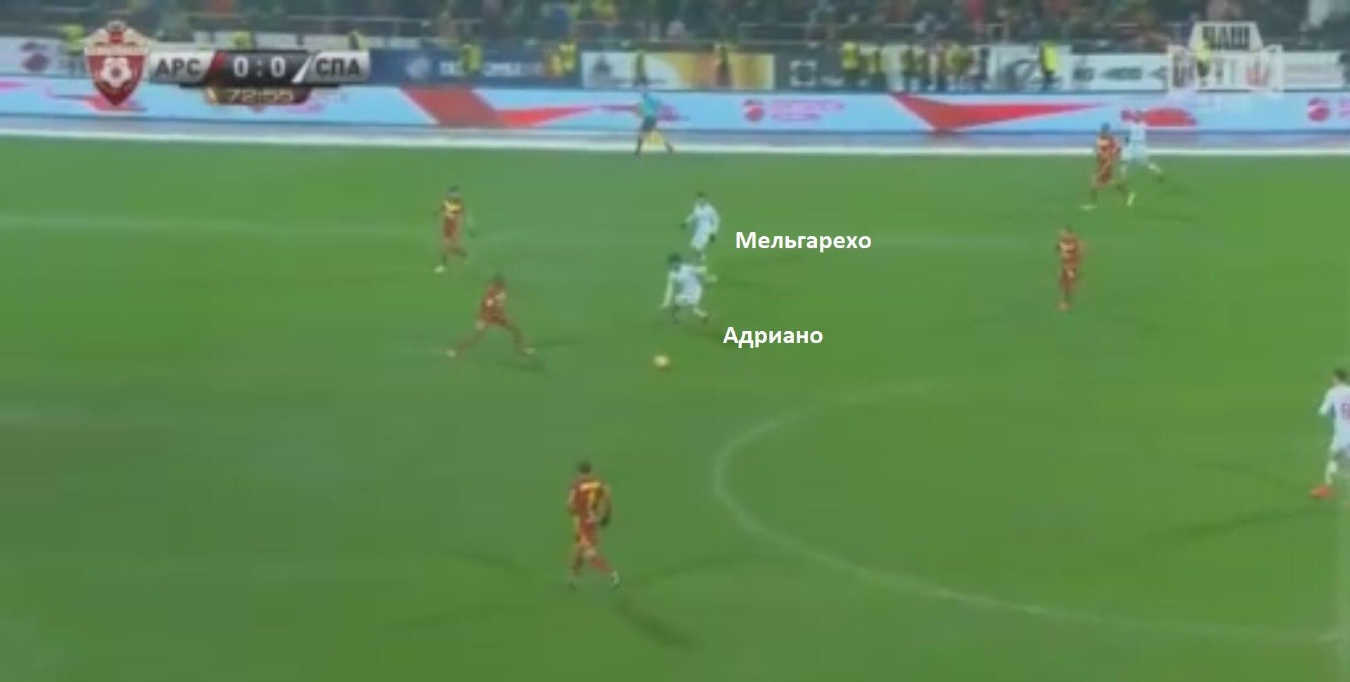 Адриано сыграл и за Зе Луиша, и за Промеса: бразилец вновь был ключевой фигурой