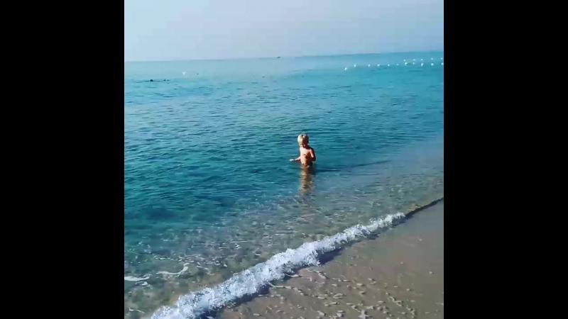 утро на пляже:)