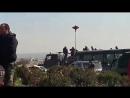 Прибытие колонны Сирийской Арабской армии для освобождения Восточной Гуты