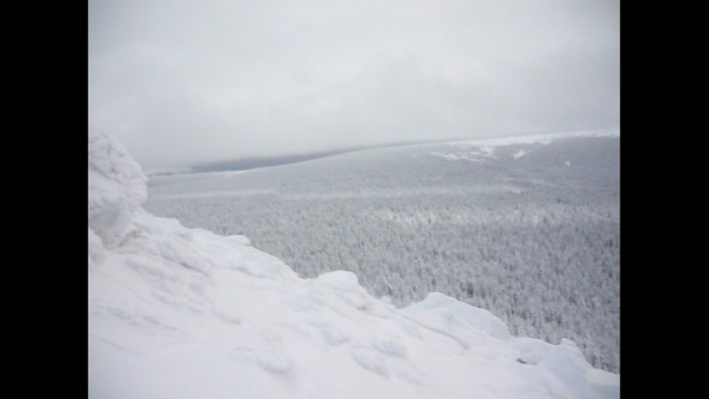 Вид с вершины горы Шудь-Пендыш