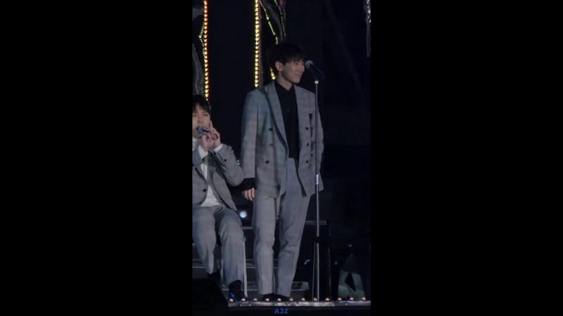 [FANCAM] 01.11.2017: BTOB - Missing You (Фокус на Ынквана) @ Pyeongchang Olympics G-100 Concert