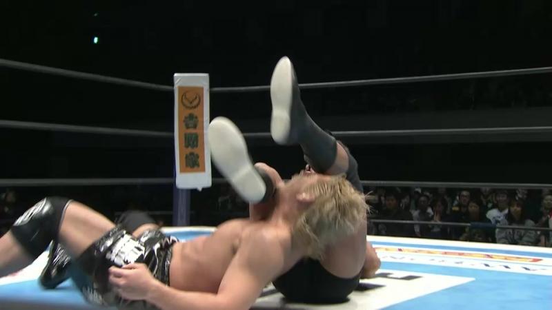 Bad Luck Fale, Tanga Loa, Yujiro Takahashi vs. Shota Umino, Tetsuhiro Yagi, Yuji Nagata (NJPW - New Japan Cup 2018 - Day 4)