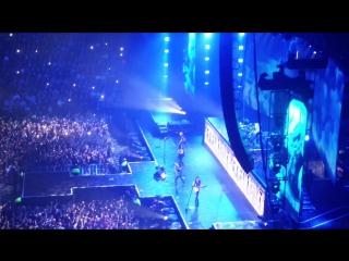 Концерт  Scorpions в Ледовом.