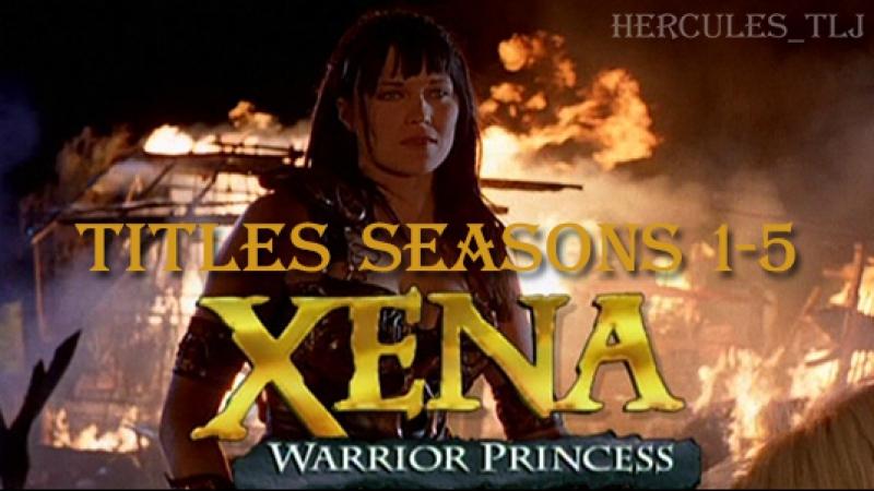Xena: Warrior Princess, titles seasons 1-5