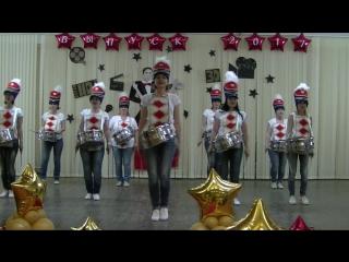 Сюрприз родителей 11а на выпускном 2017 школа 19 Камышин