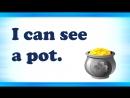 Английский язык для детей. Урок 4 Буква Ss Первые предложения I can see. It is a