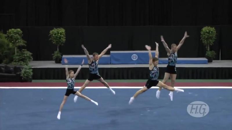 Sports Acro WC 2012 (USA) - Russia,