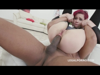 Blackbusters 3on1 with kira roller balls deep anal deep dap crescendo gapes 3 swallows