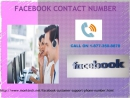 Access worth appreciating services via our Facebook Contact Number 1-877-350-8878