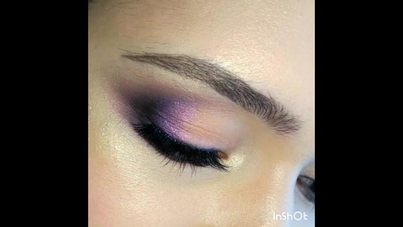 Нежный макияж с лёгким цветным акцентом | Макияж Визажист Рязань