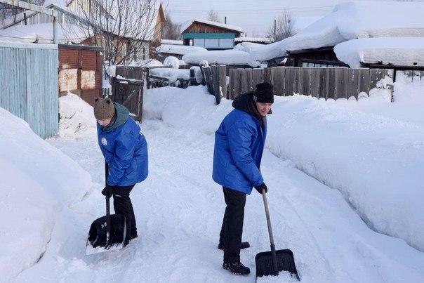 «Снежный десант» побывали в Усть-Илимске и районе